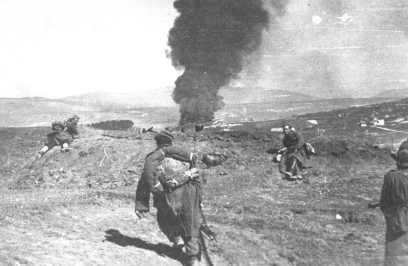Бой за Бихач. Март 1945 г.