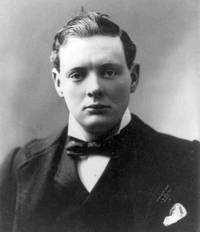 Черчилль в 1900 году.
