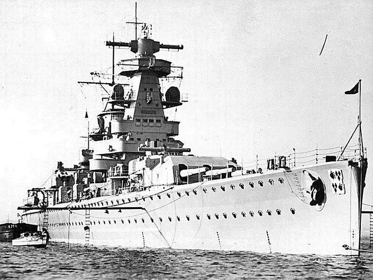 Тяжелый крейсер «Адмирал граф Шпее».