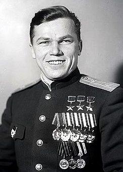 Трижды Герой Советского Союза Кожедуб Иван Никитович (08.06.1920-08.08.1991)