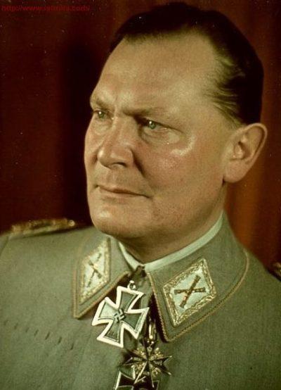 Рейхсмаршал Герман Геринг.
