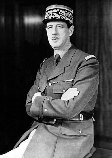 Генерал Шарль де Голль.