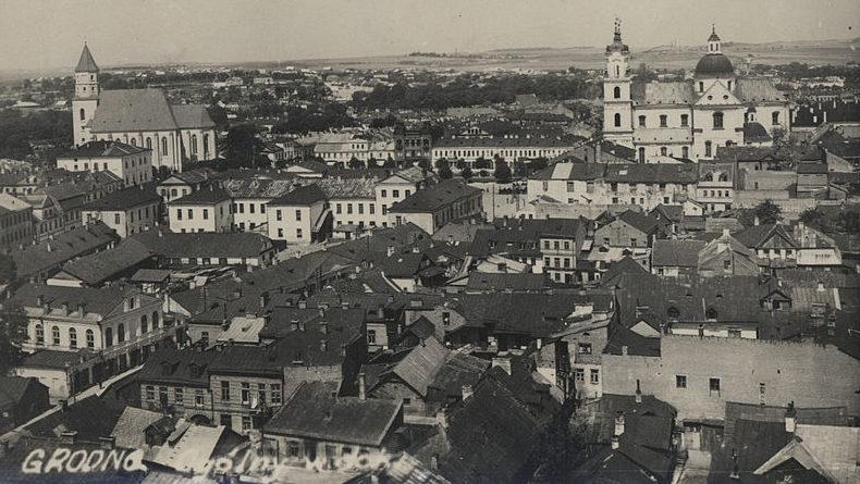 Вид на Гродно. 1935 г.