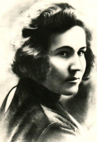 Мария Октябрьская. 1938 г.