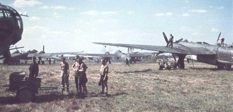Аэродром Кенигсберга. 1944 г.
