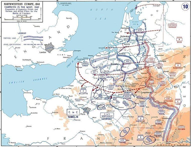 Планы союзников и Германии. План «Диль» против плана «Гельб».