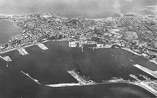 Порт Дакар.