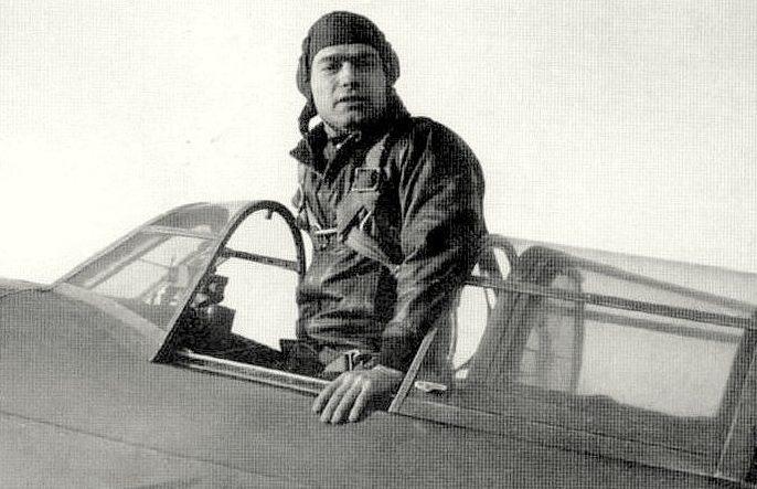 Герой Советского Союза Лавриненков. 1943 г.
