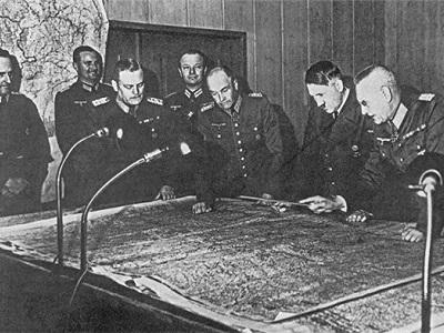 Игры на картах в ОКХ по плану «Барбаросса».