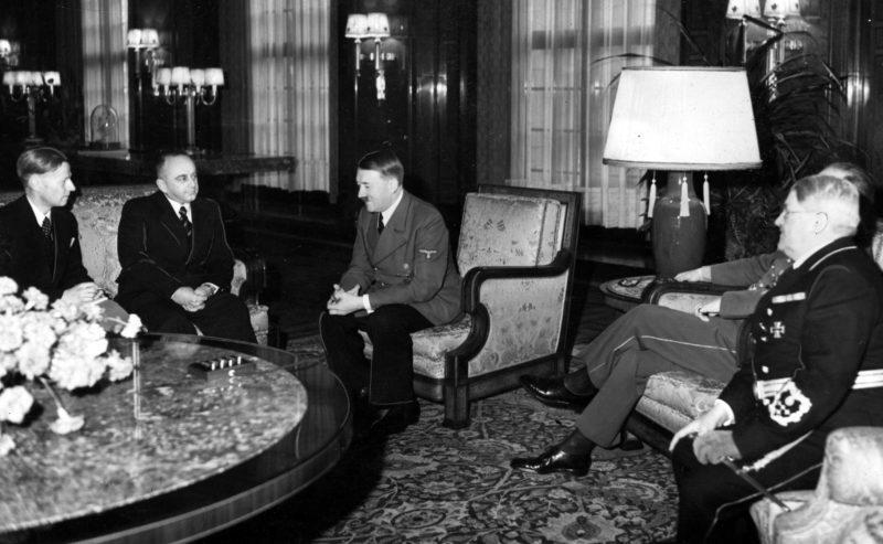 Деканозов на приеме у Гитлера. Декабрь 1940 г.