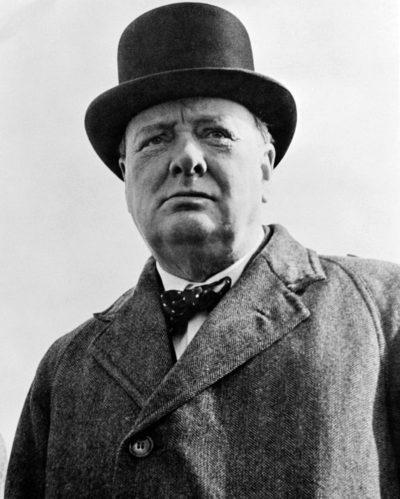 Уинстон Черчилль. 1942 г.