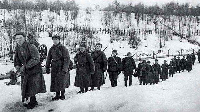 Вторжение Красной Армии в Финляндию.