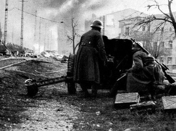 Бой за Симферополь. Октябрь 1941 г.