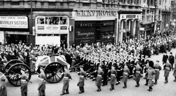 Похороны Черчилля.