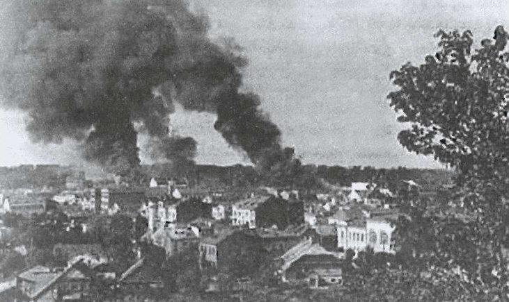 Бомбардировка Каунаса. 22 июня 1941 г