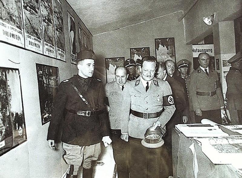 Эрих Кох на 27-й Немецкой восточной ярмарке. Август 1939 г.