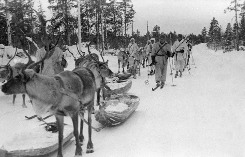 Финские диверсионные лыжные группы. Декабрь 1939 г.