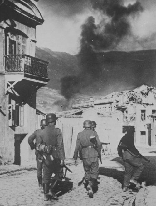 Немцы в Ялте. Ноябрь 1941 г.