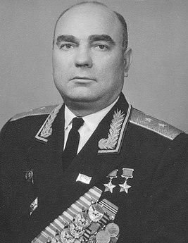 Генерал-лейтенант Лавриненков. 1969 г.
