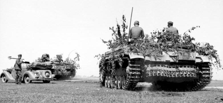 Немецкое наступление на Украине.