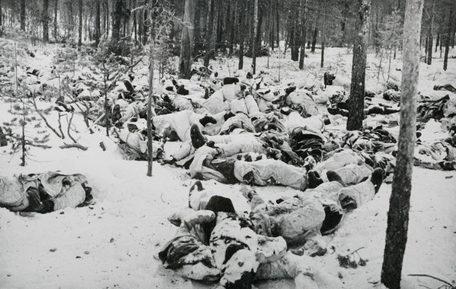 Погибшие красноармейцы. Декабрь 1939 г.