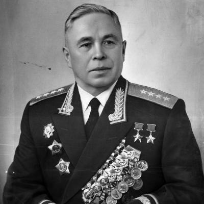 Дважды Герой Советского Союза Белобородов Афанасий Павлантьевич (18.01.1903-01.09.1990)
