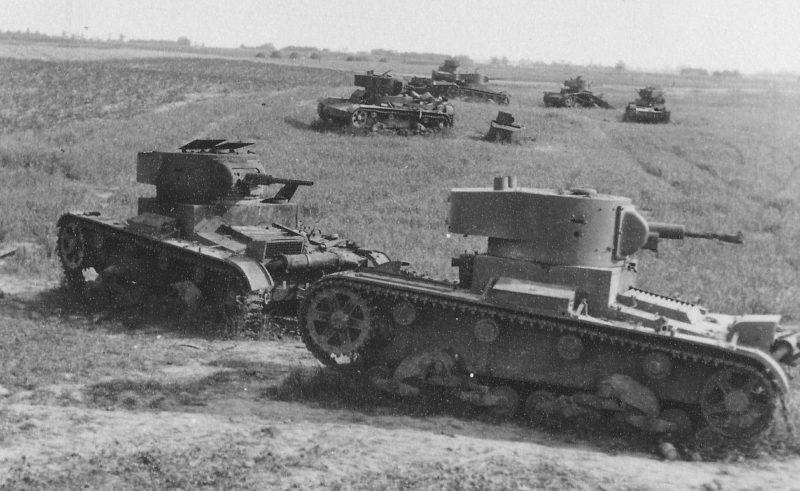 Танковое сражение в районе Дубно -Луцк –Броды.