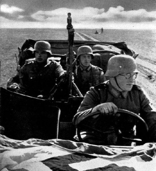 Немцы у Феодосии. Ноябрь 1941 г.