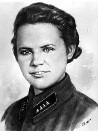 Ирина Левченко. 1943 г.