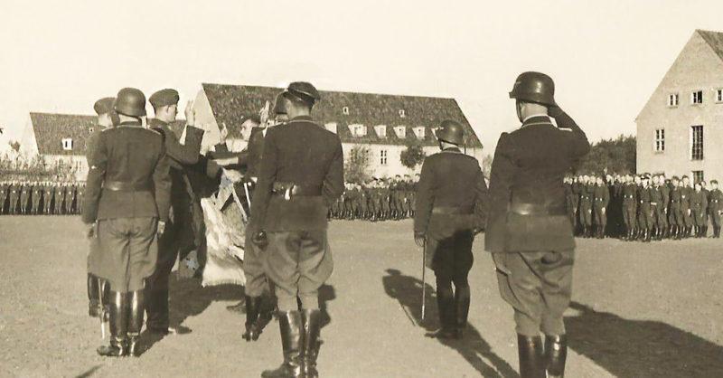 Плац военного пехотного училища. 1939 г.
