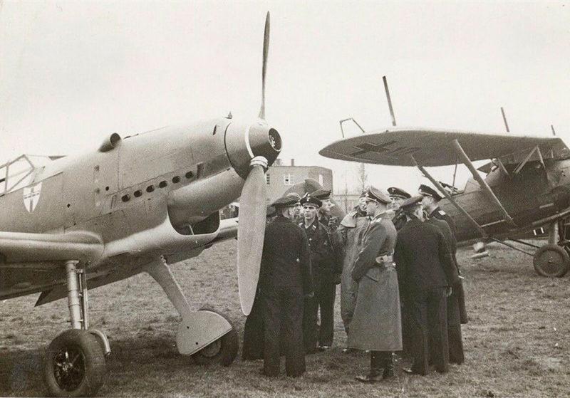 Военный аэродром. 1939 г.