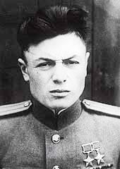 Дважды Герой Советского Союза майор Петров. 1945 г.