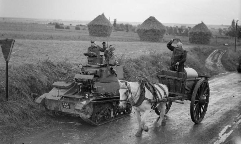 1-й пехотный полк недалеко от Арраса. 12 октября 1939 г.