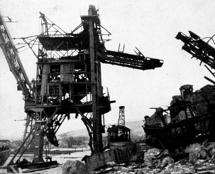 Порт Феодосии после занятия немцами. Ноябрь 1941 г.