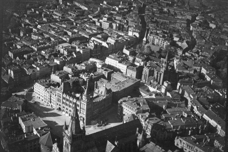 Виды города. 1940 г.