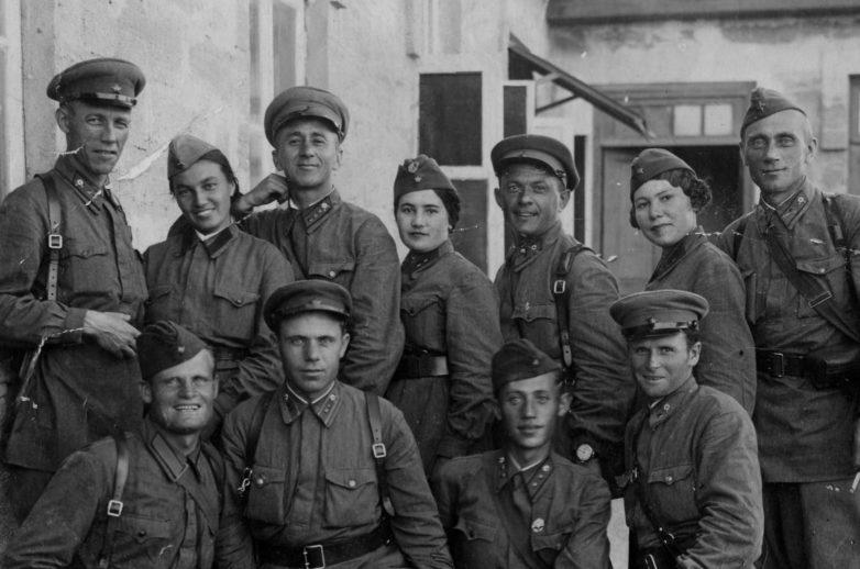 Участники Керченско-Феодосийской десантной операции. Декабрь 1941 г.