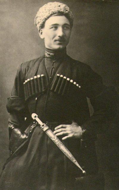 Исса Плиев. 1921 г.