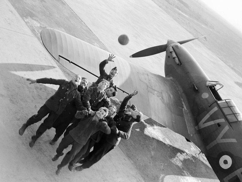 Королевские военно-воздушные силы. Эскадрильи №85 в Лилле-Секлене. Ноябрь 1939 г.