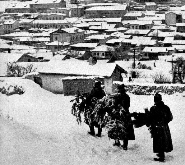 Немецкое рождество в Бахчисарае. Декабрь 1941 г.