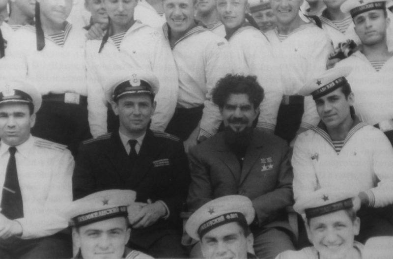 Леонов в части морского спецназа. 1965 г.