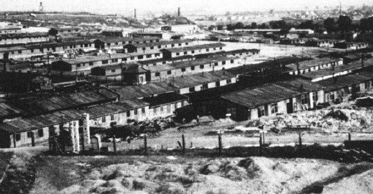 Лагерь принудительных работ в Плашове. 1942 г.