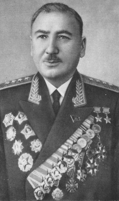 Генерал армии Плиев. 1962 г.
