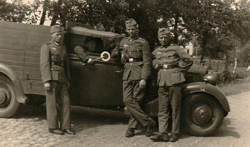 Военная дорожная полиция. 1942 г.