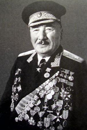 Генерал армии Плиев. 1978 г.