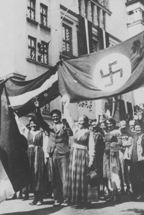 Немцы в Риге. Июнь 1941 г.