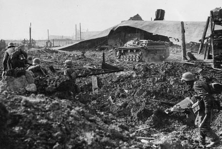 Бой с советским десантом в Евпатории. Январь 1942 г.