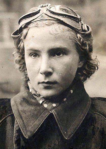 Пилот Лидия Литвяк. 1940 г.