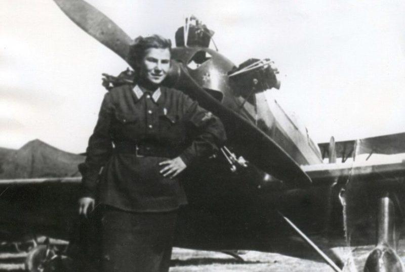 Летчик-истребитель Литвяк. 1942 г.