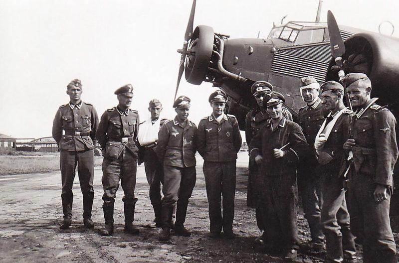 Военный аэродром. 1943 г.