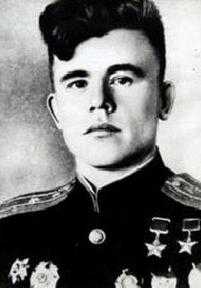 Майор Плотников. 1945 г.